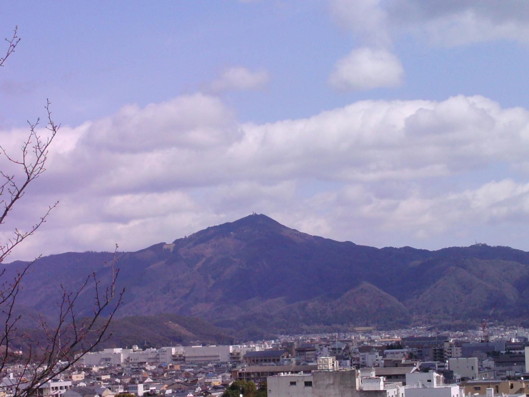 比叡山の雄姿