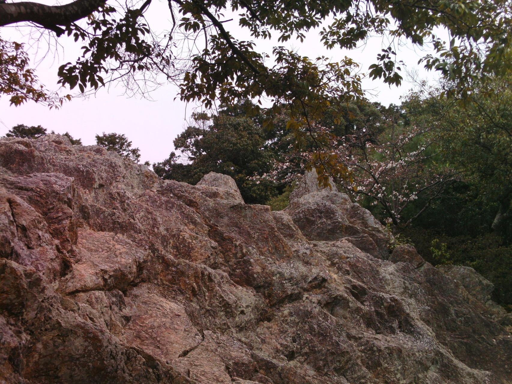 古代から信仰の対象・大岩