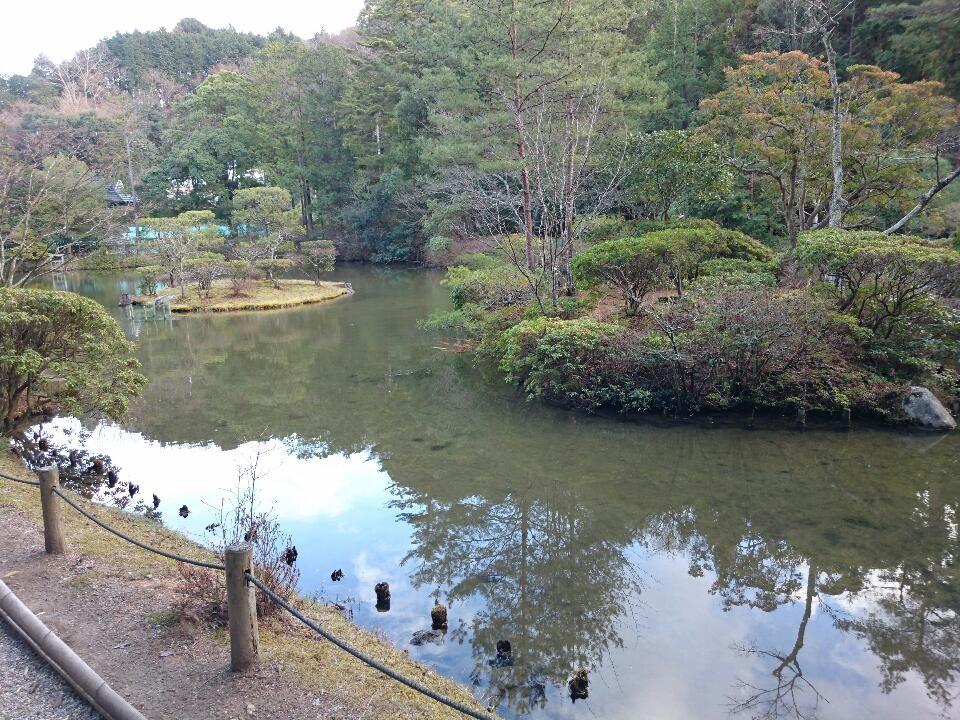 平安の面影が残る浄土式庭園(名勝) 円成寺