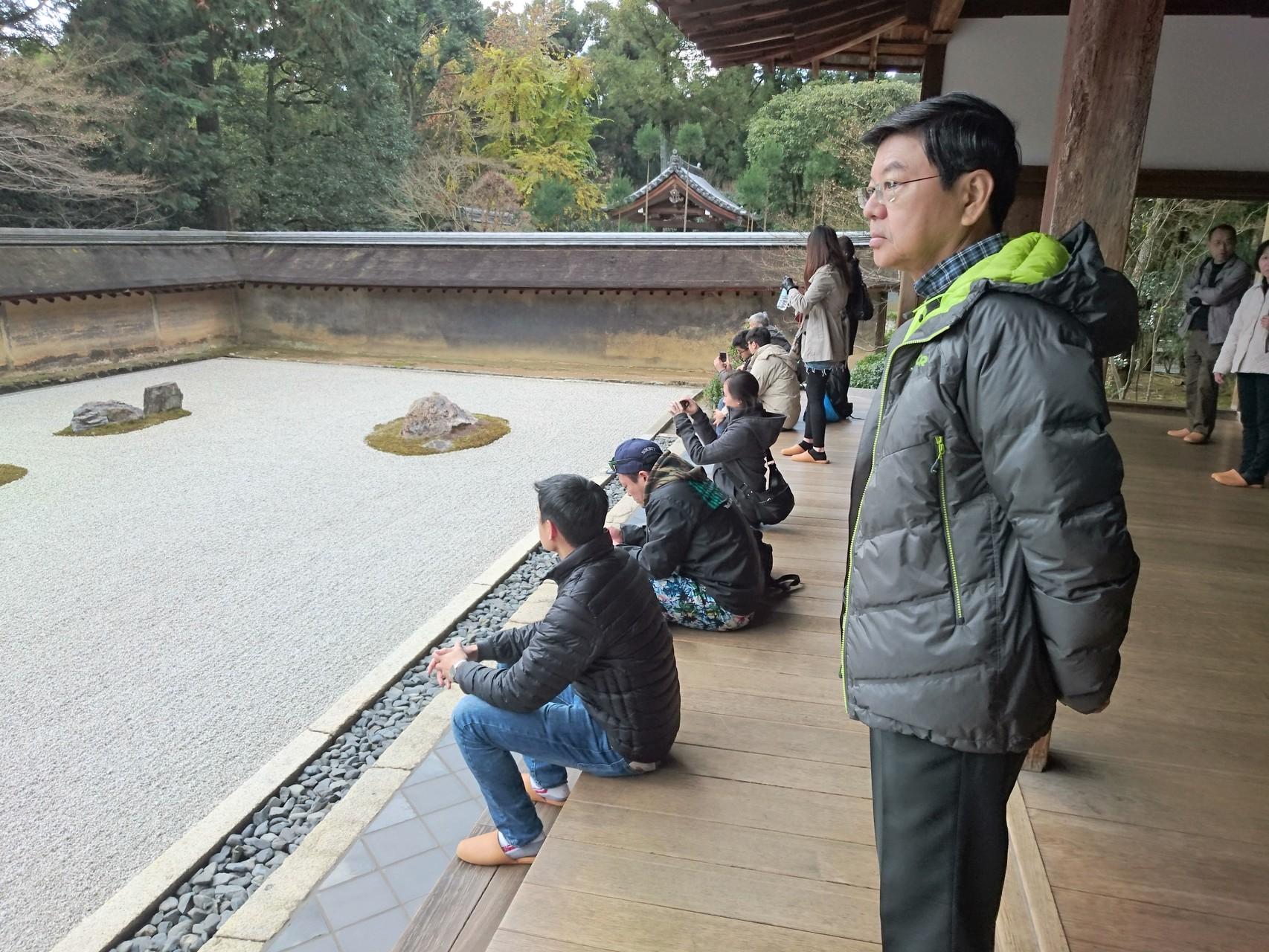 Ryoan-ji Temple, mysterious rock garden
