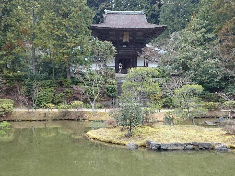 円成寺 柳生街道沿いに位置する古寺