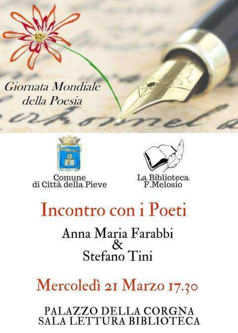 Città della Pieve 21 marzo 2018 - Giornata Mondiale della Poesia