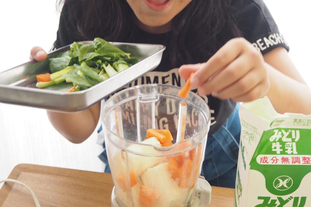 有機野菜はママの時短テクにもお役立ち