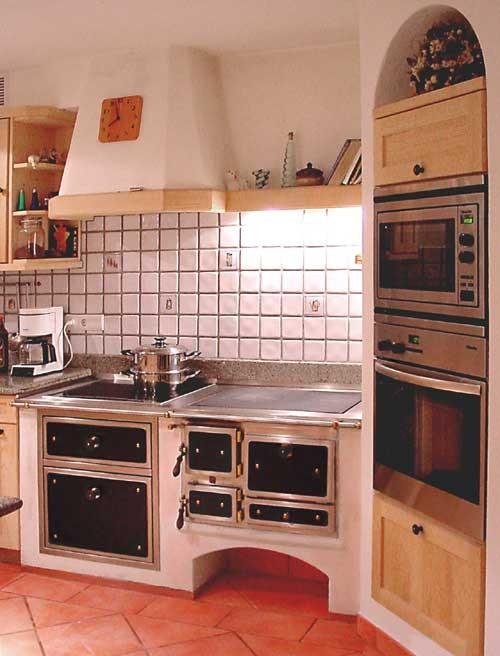 Kuchenherde Ofen Kamin Fliesen Zschornak