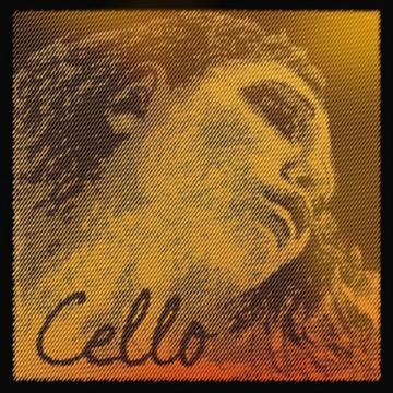 EVAH PIRAZZI GOLD Cellosaiten