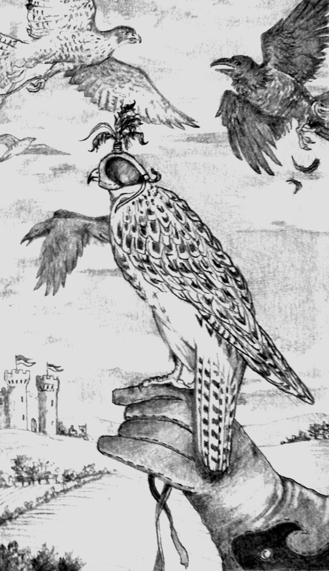 Buchillustration für Verlagsguppe Luebbe