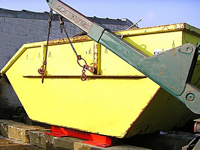 Absetzcontainerwaage