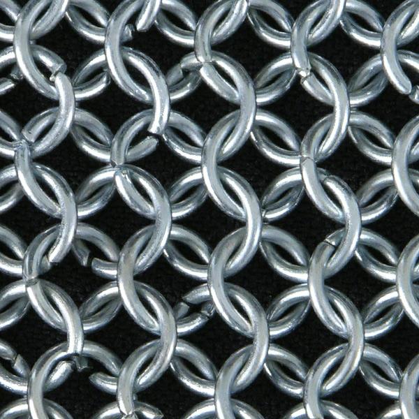 Code B section: anneaux simples fil rond non rivetés