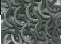 Code 5 section anneaux plats acier brut de forge rivet rond
