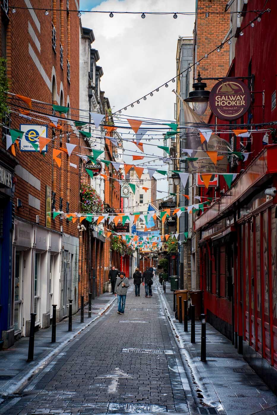 Irisches Straßenleben