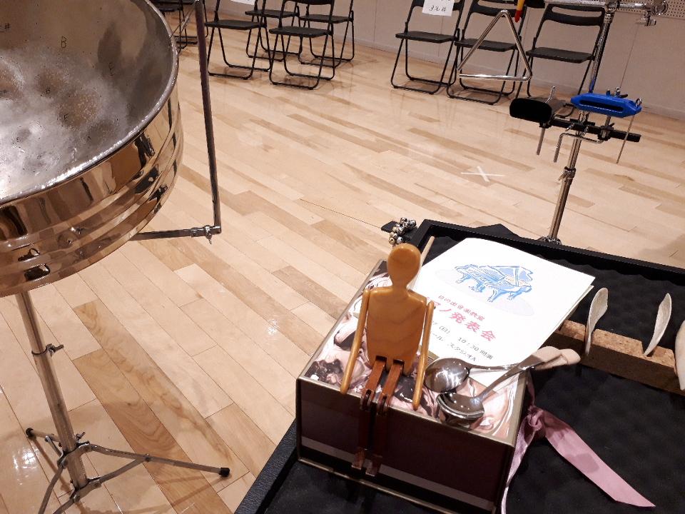 ピアノの発表会でゲスト出演
