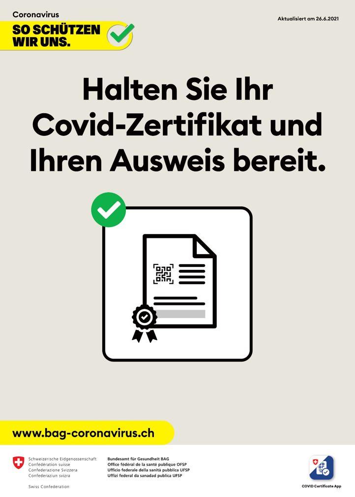 Zertifikatspflicht als Alternative zu einem Lockdown