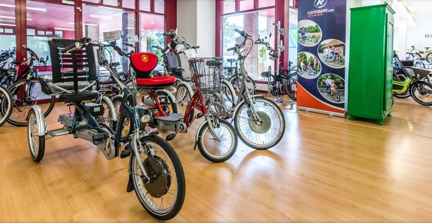 Dreiräder und Elektro-Dreiräder für Erwachsene in Hombrechtikon