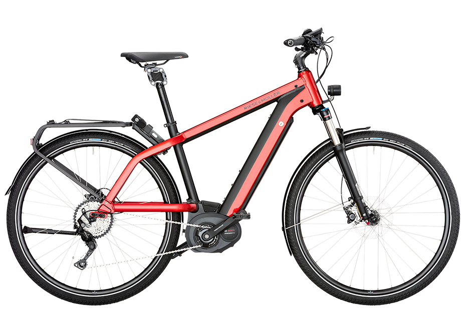 Riese & Müller New Charger nuvinci / New Charger nuvinci HS 2018 - rot
