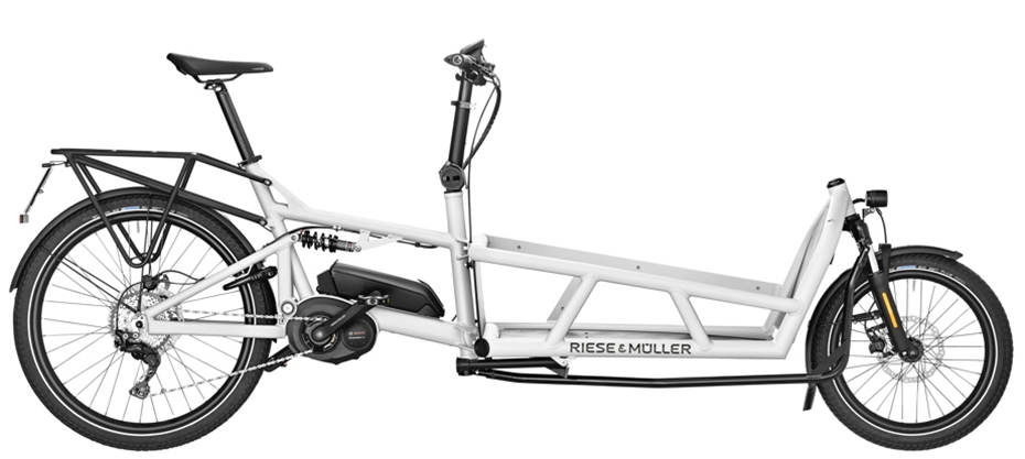 Riese & Müller Load 75 touring / Load 75 touring HS - white