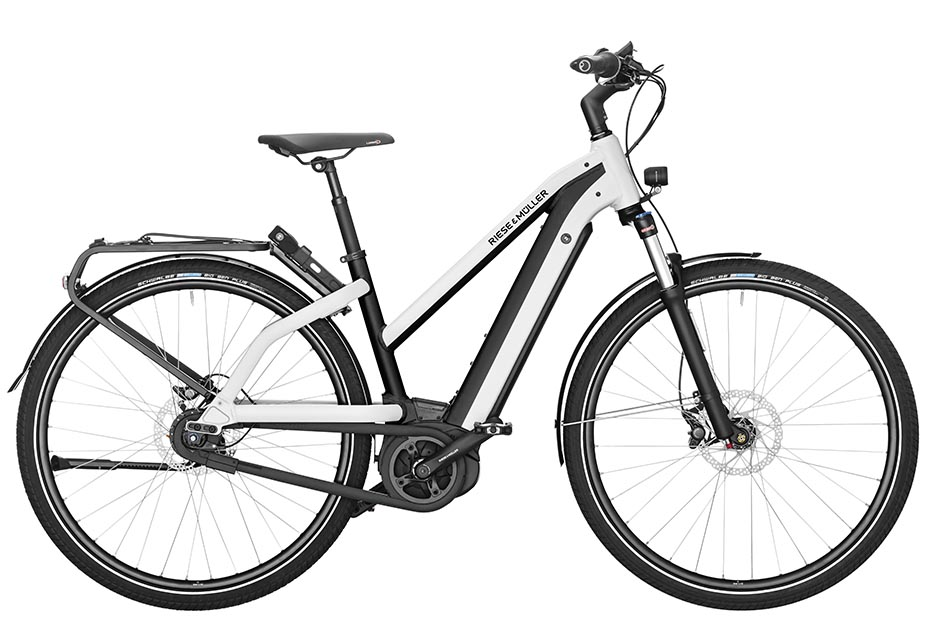 Riese & Müller Charger Mixte City 2019 - pearl white