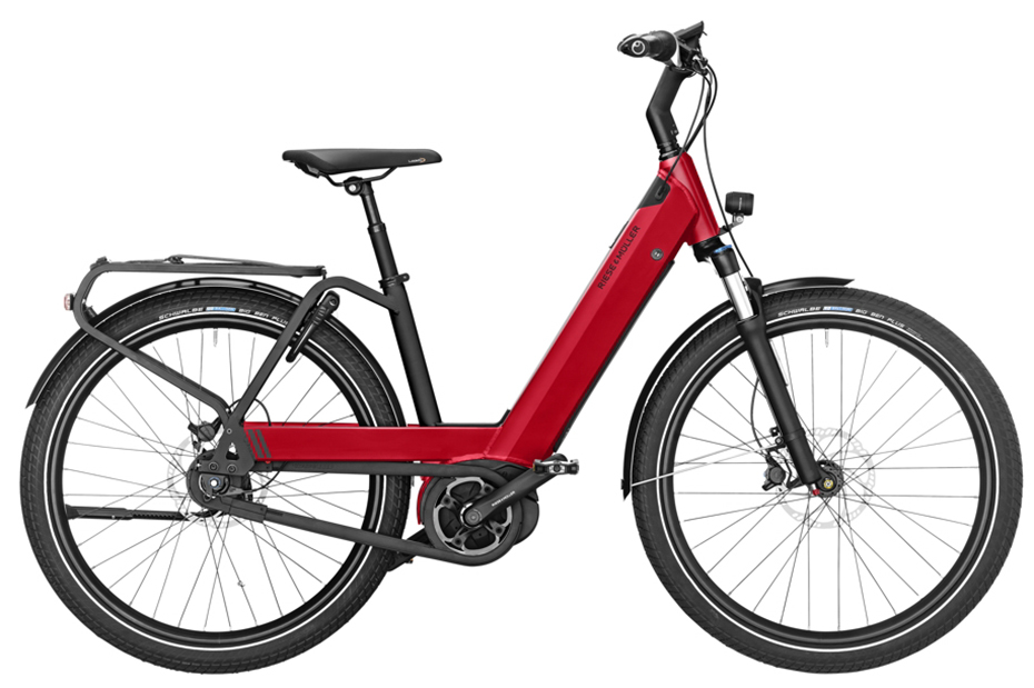 Riese & Müller Nevo GT City 2019 - electric red metallic