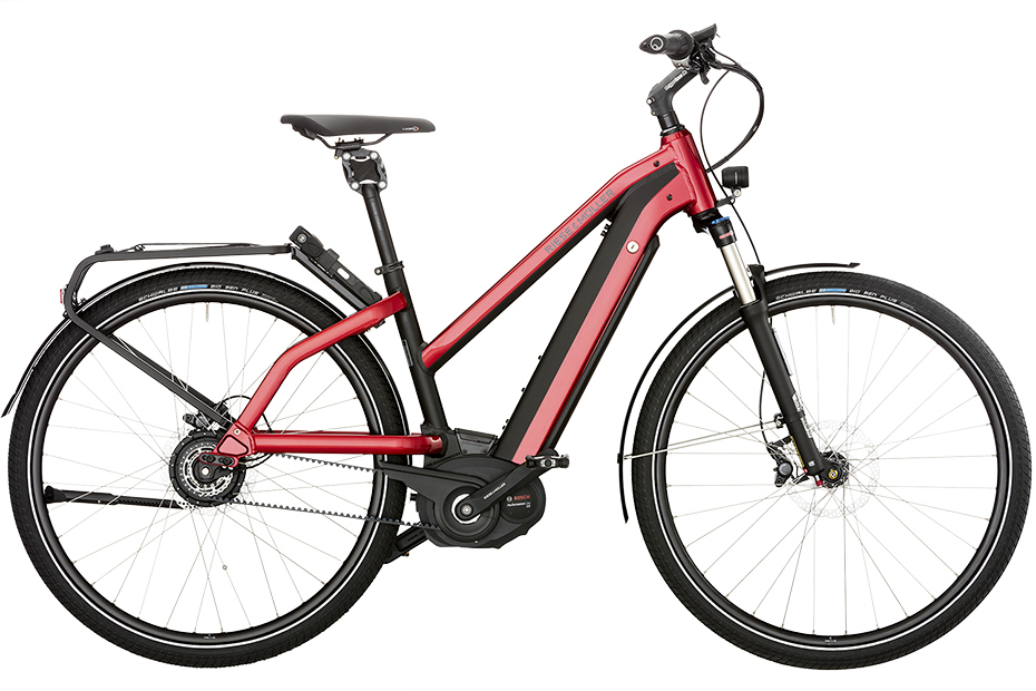 Riese & Müller Charger Mixte Vario / Vario HS 2019 - electric red metallic