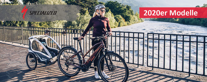 Specialized e-Bikes 2020 e-Mountainbikes, Trekking e-Bike