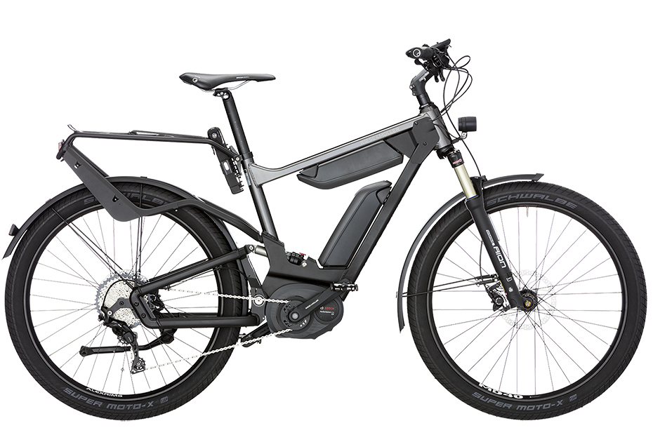Riese & Müller Delite GT Touring / GT Touring HS 2019 - urban grey metalic