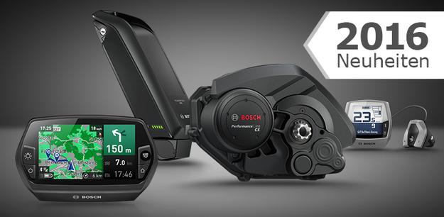 Neuheit 2016: Bosch Performance Line CX