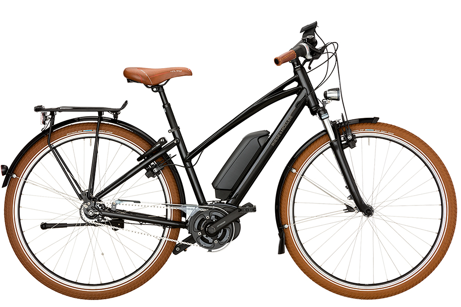 Riese & Müller Cruiser Mixte City Rücktritt 2019 - black