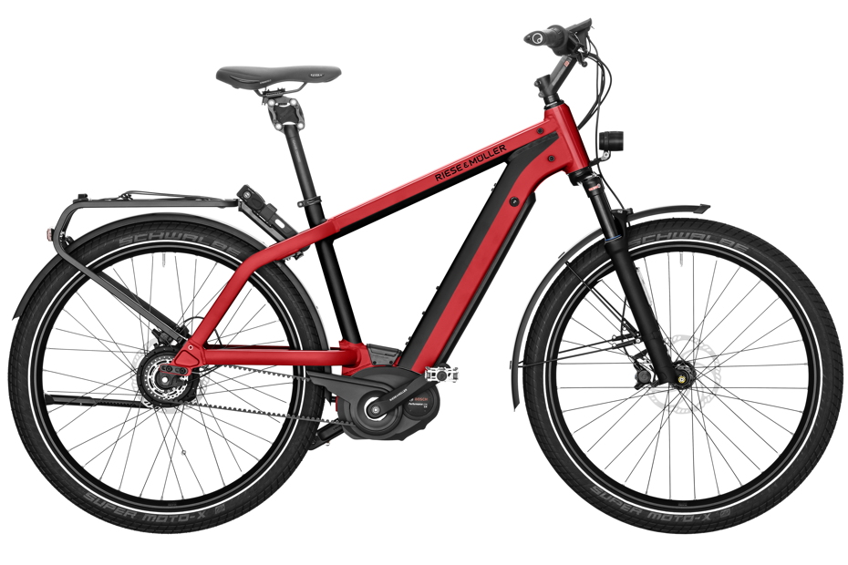 Riese & Müller Charger GH Vario 2019 - electric red metallic