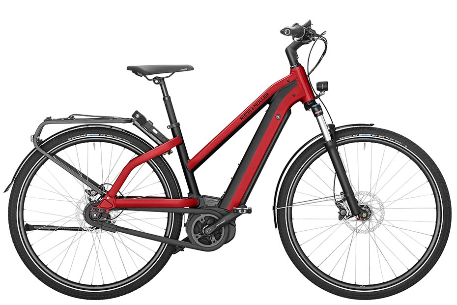 Riese & Müller Charger Mixte City 2019 - electric red metallic