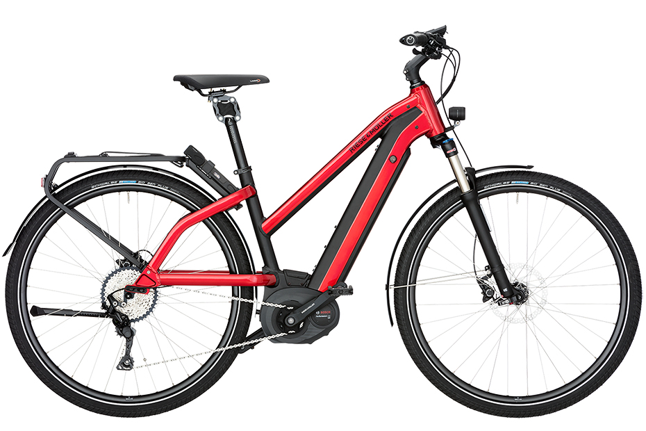 Riese & Müller New Charger Mixte Mountain 2018 - rot