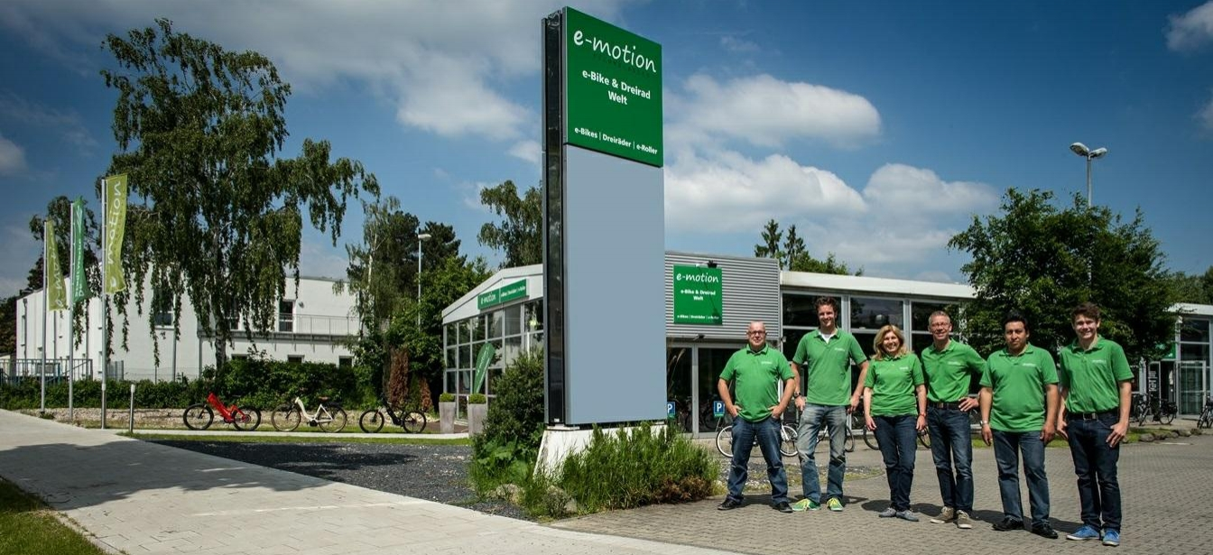 Vorteile e-motion e-Bike Experten Gruppe