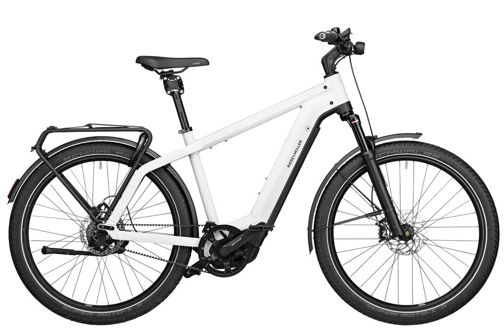 Riese & Müller Charger3 GT rohloff - ceramic  white