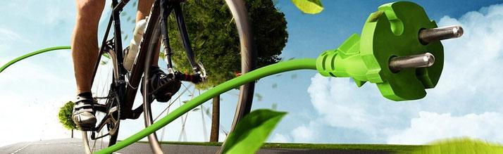 e-Bike fahren für beste Umweltbedingungen