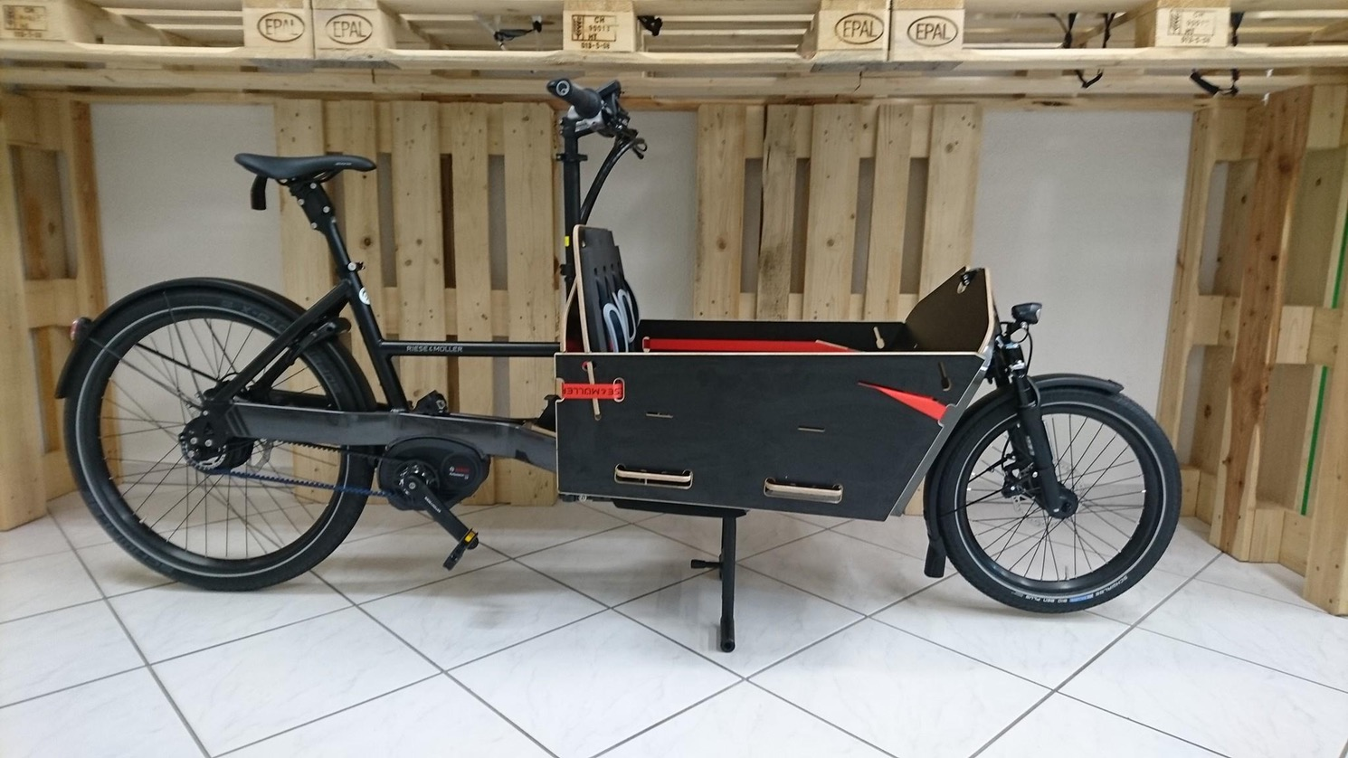Riese und Müller e-Cargo / Lasten e-Bike Packster 2017