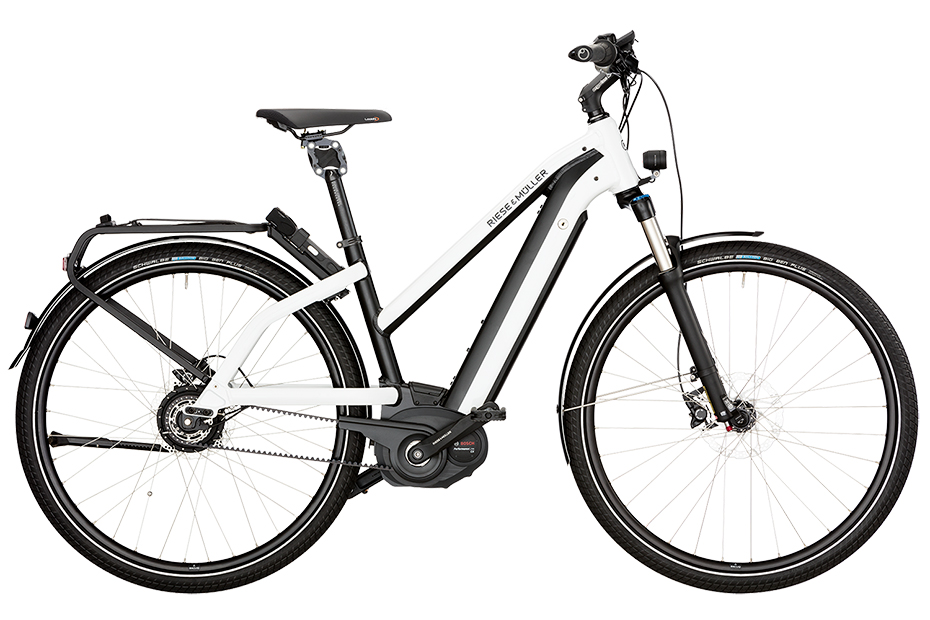 Riese & Müller New Charger Mixte GT Touring / New Charger Mixte GT Touring HS 2018 - weiß