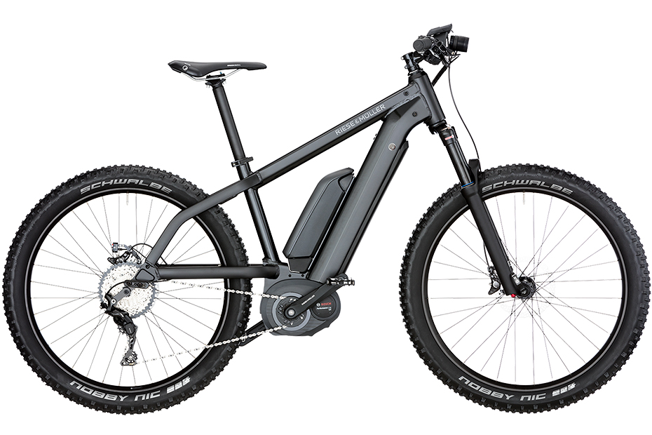 Riese & Müller New Charger nuvinci / New Charger nuvinci HS 2018 - matt schwarz