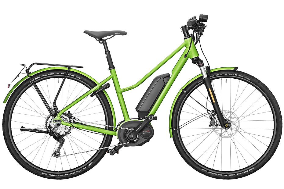 Riese & Müller Roadster Mixte touring/ Roadster Mixte touring HS - electric green metallic