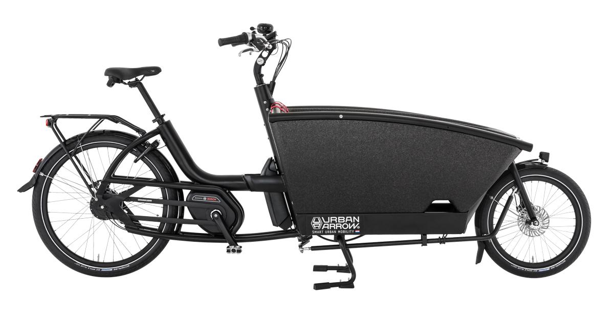 Urban Arrow Family Performance schwarz - Cargo e-Bike 2019