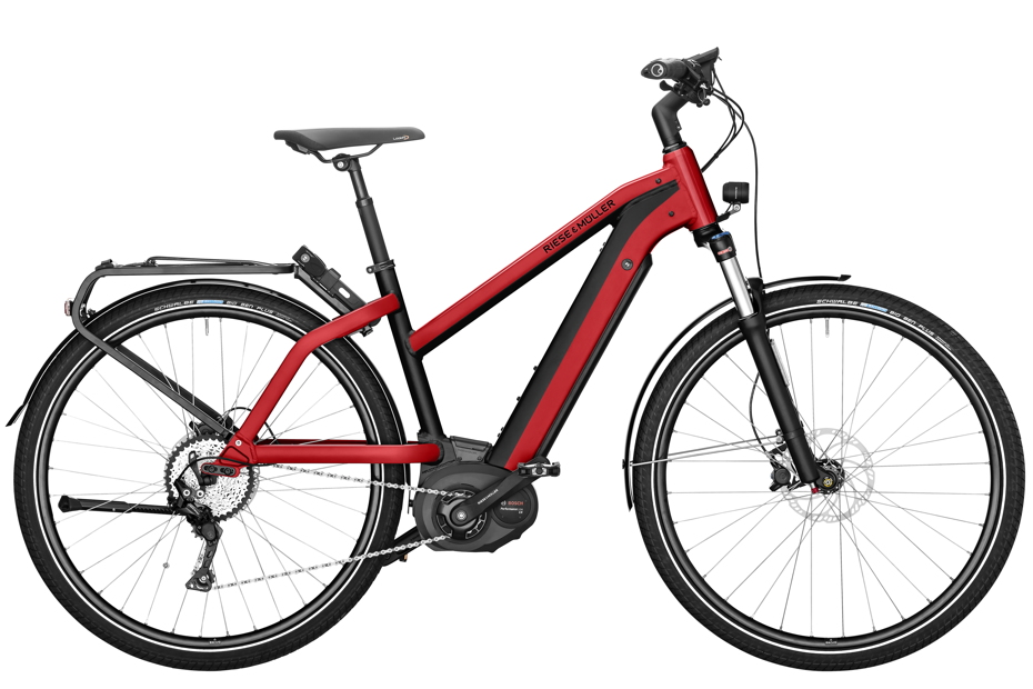 Riese & Müller Charger Mixte Touring / Touring HS 2019 - electric red metallic