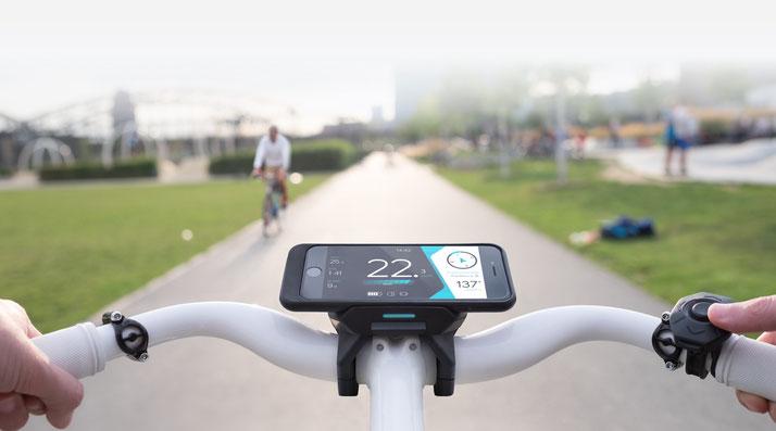 COBI e-Bike Bordcomputer - intuitives Bediensystem