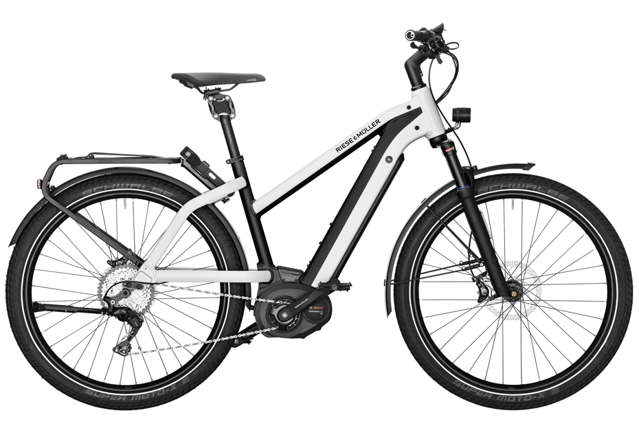 Riese & Müller Charger Mixte GT Touring / GT Touring HS 2019 - pearl white