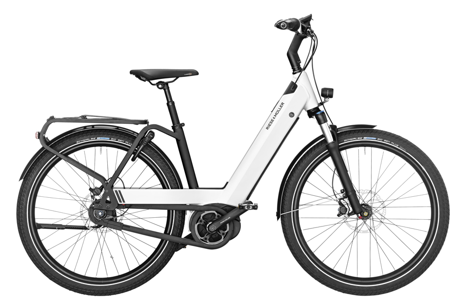 Riese & Müller Nevo GT City 2019 - pearl white