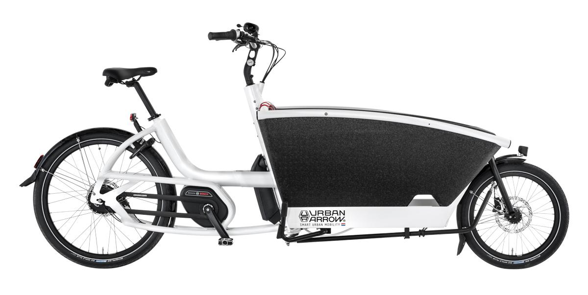 Urban Arrow Family Performance weiss - Cargo e-Bike 2019