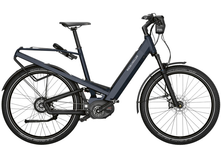 Riese & Müller Homage GT vario 2020 e-Bike - deepsea blue metallic