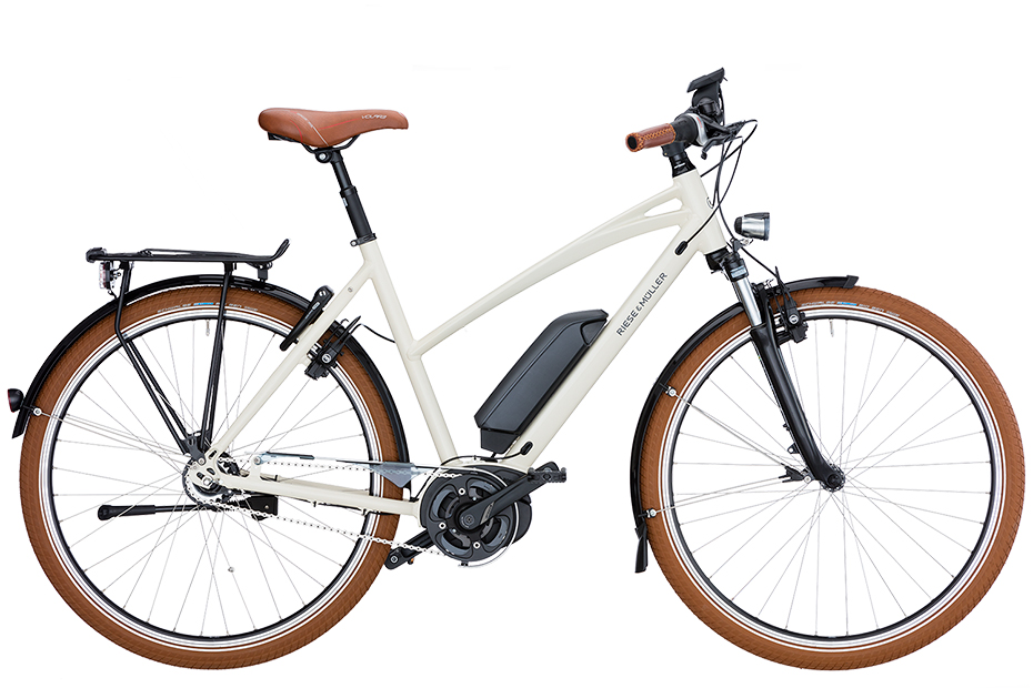 Riese & Müller Cruiser Mixte City Rücktritt 2019 - cream