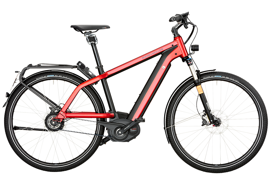Riese & Müller New Charger GT Nuvinci HS 2018 - rot