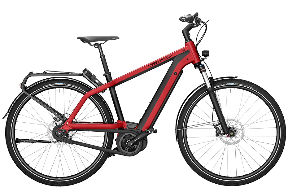 Riese & Müller Charger City 2019 - electric red metallic