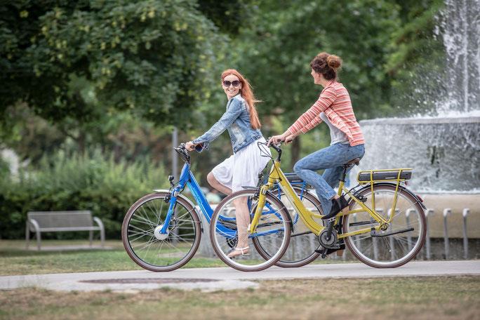 Winora City / Trekking e-Bikes mit Bosch Motor 2017