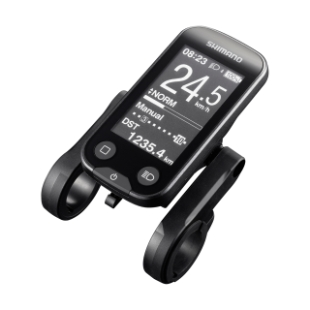 Displayoptionen beim Shimano Steps 6100 e-Bike Motor