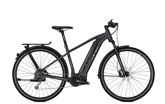 Focus Jarifa Impulse Street Trekking e-Bike 2018