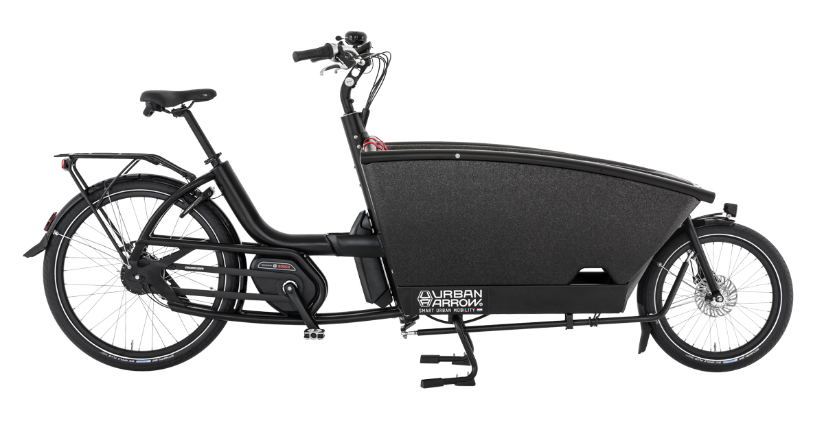 Urban Arrow Family Performance CX schwarz - Cargo e-Bike 2019